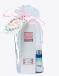 SW milk cleanser and serum